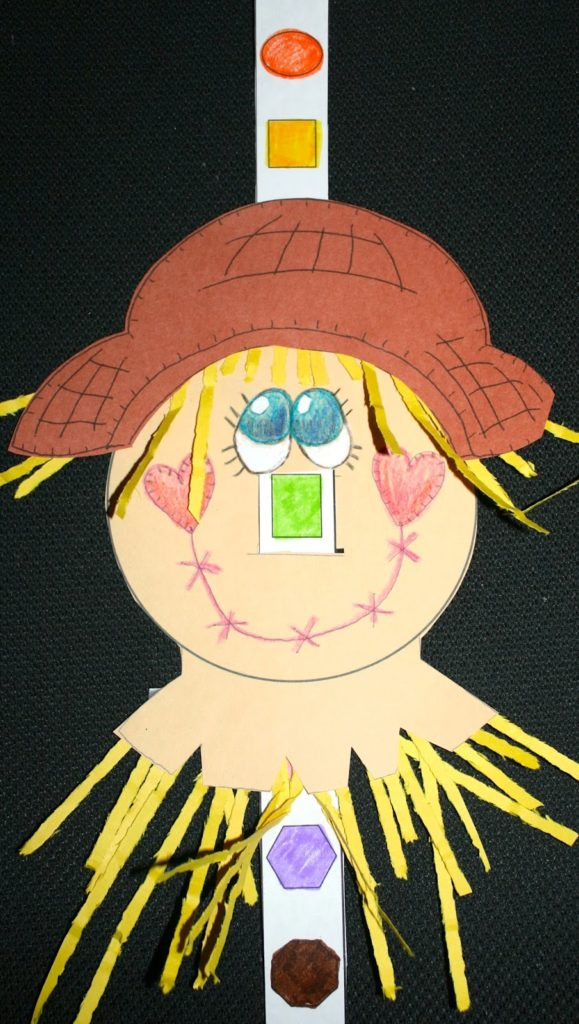 The Scarecrow S Shapely Nose Classroom Freebies