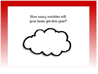 How many brain wrinkles do you have?