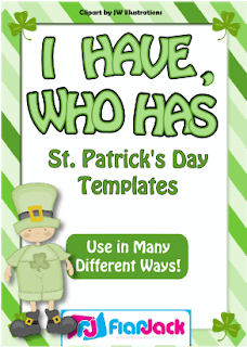 I Have Who Has St Patrick S Day Templates Clroom Freebies