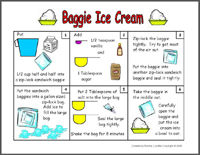Make Baggie Ice Cream With Your Students Classroom Freebies