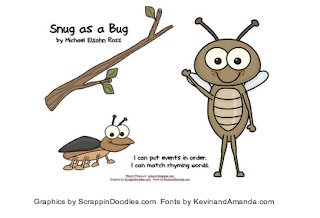 Snug as a Bug — Sequencing and Rhyming Words
