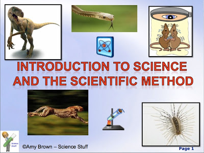 Scientific Method PowerPoint with Notes for Teacher and