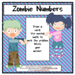 Adding and Subtracting with Zombies
