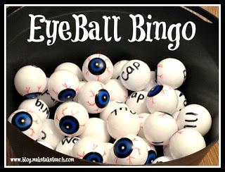 Fun Halloween Game of Bingo!