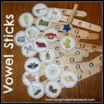 Vowel Sticks