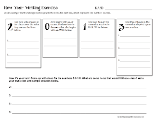 2013 Creative Writing Activity http://www.teacherspayteachers.com/Product/2013-New-Year-Creative-Writing-Activities-FREE