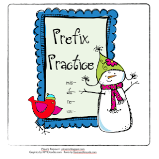 Fun with Prefixes on a Snowy Day!
