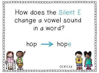 Silent E: The Big Question