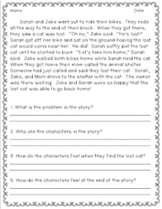 Open Ended Questions in 2nd Grade - Classroom Freebies
