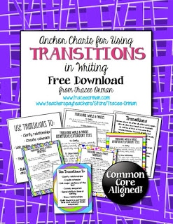 Common Core Writing: Using Transitions