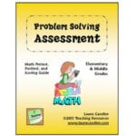Laura Candler's Free Math Problem Solving assessment