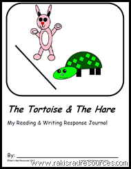 Tortoise and the Hare Readers Response Packet