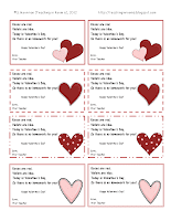 Valentine's Day…Math and Homework Passes!