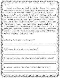 non fiction response questions