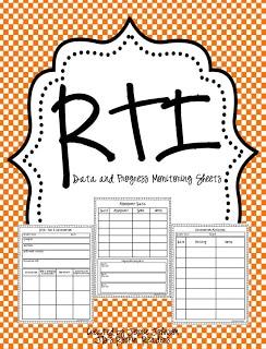 Hi everyone and an RTI Progress Monitoring Sheet
