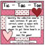 Tic Tac Toe for Collective Nouns