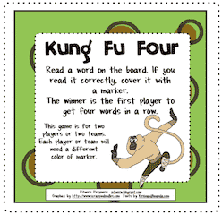 Kung Fu Freebie!