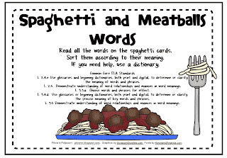 Spaghetti and Synonyms