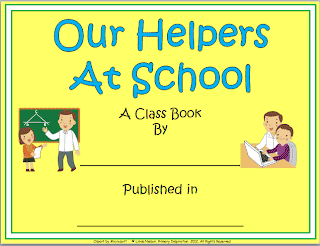 Meet Your School Helpers and Make a Class Book!