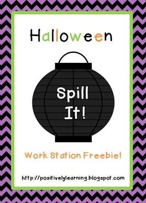 Halloween Spill-It!
