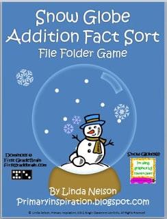 Snow Globe Addition Sort