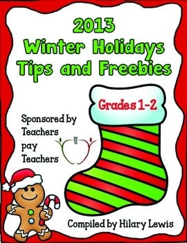 Winter Holidays Tips and Freebies 2013 – PK – 12