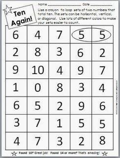 Ten Again! Number Puzzle