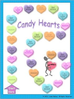 Practicing Digraphs with Candy Hearts
