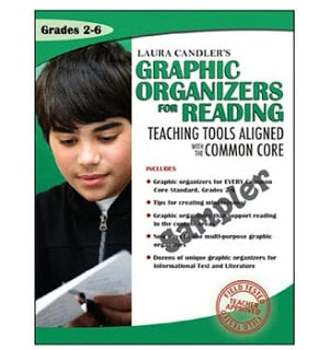Laura Candler's CCSS Graphic Organizers for Reading Free Sample