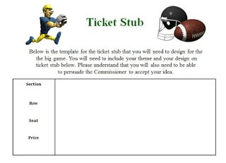 FREE Activities for the Super Bowl in your Classroom!