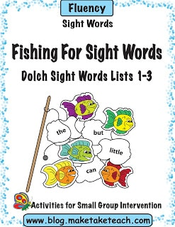 Fishing For Sight Words Game