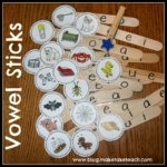 Fun Short Vowel Activity for Centers!