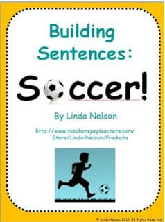 Building Sentences with a Soccer Theme!