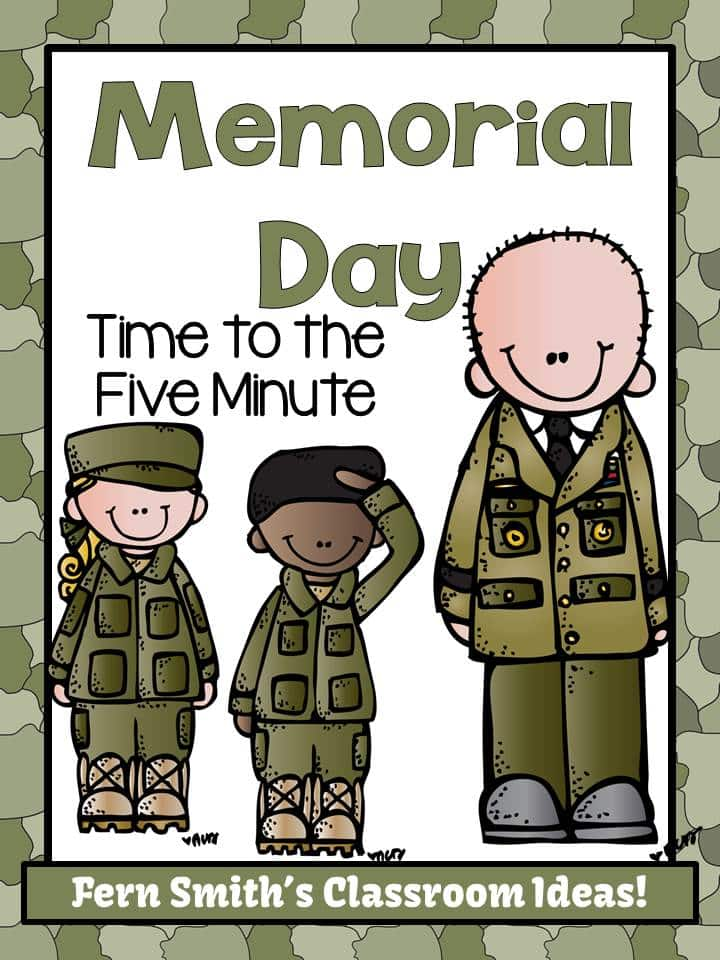 Fern Smith's FREE Memorial Day Time to the Five Minute Math Center