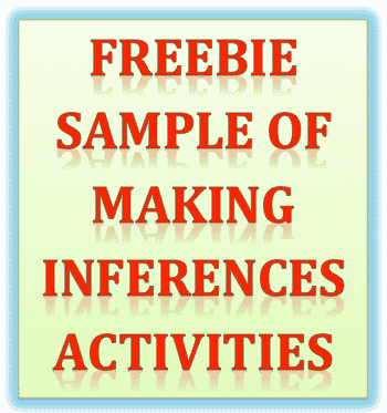 Freebie Sample of Making Inferences Activities