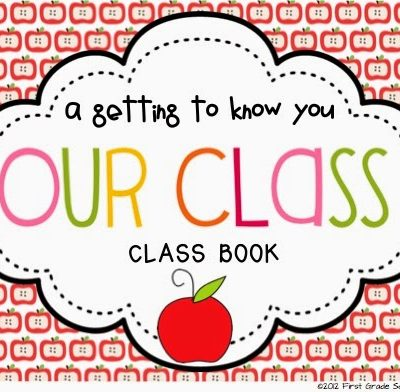 Class Book: Getting to Know You