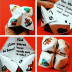 Getting to Know You Back to School Paper Quizzers (Cootie Catchers)