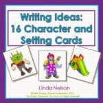 Writing Inspiration! Character and Setting Cards