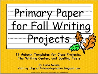 Autumn Writing Template Pages - Classroom Freebies