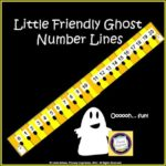 Number Lines for October Math