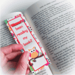 Free Owl Reading Bookmark
