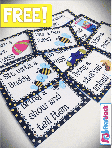 FREE Bee-Themed Positive Classroom Behavior Coupons