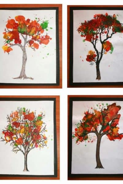 Awesome Autumn Craftivity
