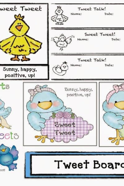 Sweet Tweet Talk Classroom Management