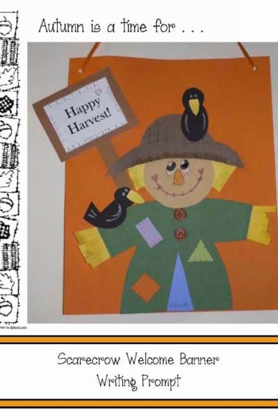 Happy Harvest Scarecrow Writing Prompt Craft
