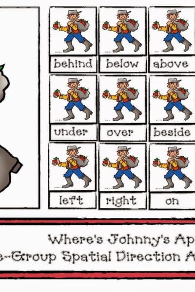 Where Is Johnny's Apple? A Spatial Direction Game
