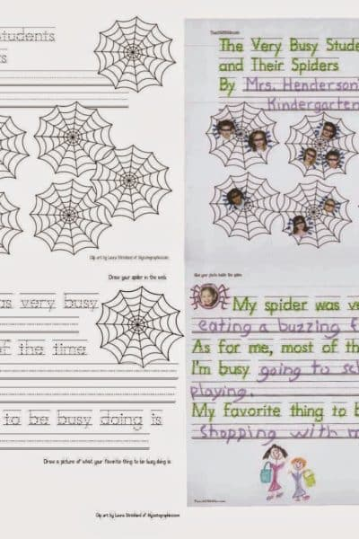The Very Busy Students and Their Spiders Class Book