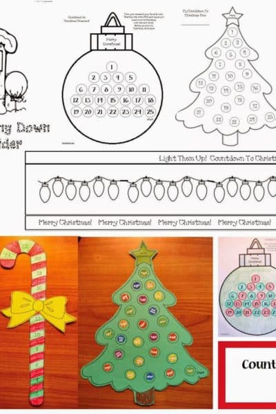 Countdown to Christmas Activities