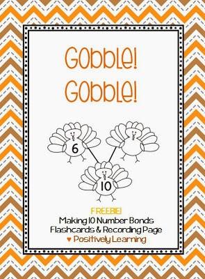 Gobble Gobble Number Bonds