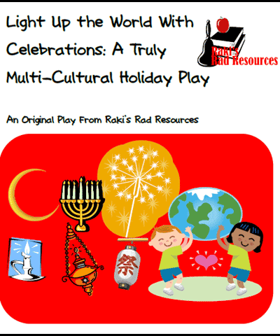 Winter Holiday Reader's Theater from Raki's Rad Resources